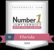 Top Jury Verdict Award Badge
