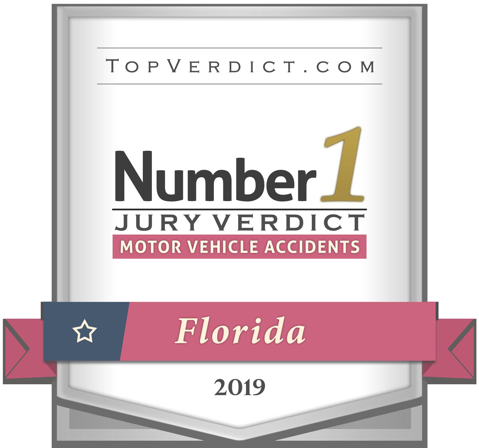 Large Top Verdict Award Badge