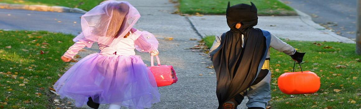 Halloween Car Accident Avoidance